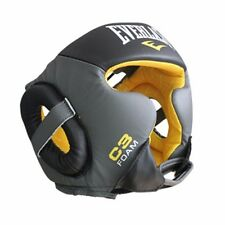 EVERLAST C3 Sparring HeadGear Dual Kickboxing MMA Muaythai Punching Boxing Glove