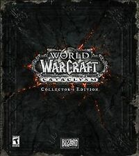 World of Warcraft: Cataclysm -- Collector's Edition Sealed