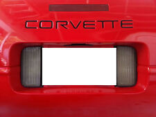 Front and Rear Bumper Graphic Decal Inserts Fits Corvette C4 91-96