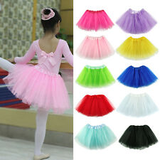 Girls Kids Baby Dance Party Tutu Skirt Pettiskirt Kid Ballet Dress Fancy Costume