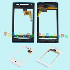 TOUCH SCREEN LENS GLASS DIGITIZER + FRAME FOR SONY ERICSSON XPERIA X8