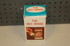 Vintage The Out House Toy #606 Water Pee Squirt Gag Gift Peeing Man w/BOX