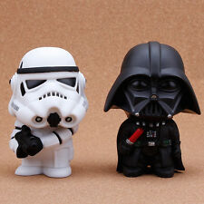 """4"""" Star Wars Darth Vader & Stormtrooper PVC Figure Collectables Kids Toy Gift"""