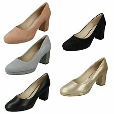 Ladies Clarks Smart Court Slip On Shoes Kelda Hope
