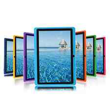 "7"" inch Android 4.4 Allwinner Tablet PC Quad Core DUAL CAMERA US Purple"