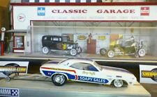 1/24 Drag slot car 1/25 Soapy Sales Cuda FC ball bearing SRC Chassis USED ROLLER