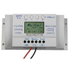 LCD 10/20/30/40 A     Panel Regulator Charge Controller 12V/24V 3 Timer