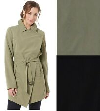Metaphor Womens Trench Coat Soft Microfiber Lined solid belted sizes S L XL NEW