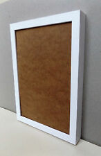 Solid Wood - DEEP Photo/Picture Frames in WHITE WOODGRAIN finish - WALL HANGING