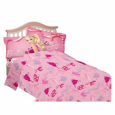 Barbie Ballet Twin Bedding Set
