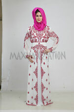 NEW MOROCCAN DUBAI 2016 KAFTAN ABAYA JALABIYA JILBAB ISLAMIC ARABIAN DRESS 5187