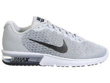 NEW MENS NIKE AIR MAX SEQUENT 2 RUNNING SHOES TRAINERS PURE PLATINUM / BLACK