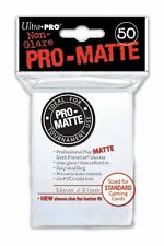 Ultra Pro Trading Card Sleeves - Standard Pro-Matte - White - Various Quantities