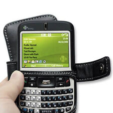 PDair Black Leather Book-Style Case for HTC S620 Excalibur / T-Mobile Dash