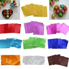 100x DIY Candy Chocolate Sweets Foil Wrapping Paper Wedding Party Supplies Favor
