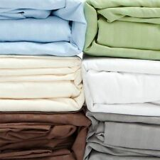 1 Fitted Sheet Or  2 Pillow Case Egyptian Cotton All Multi Colour 1000TC
