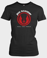 STAR WARS 'Jedi Academy' Ladies T-shirt funny slogan Starwars Gift The Last Jedi