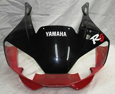 OEM YAMAHA YZFR6 YZF R6 FRONT UPPER COWL 5EB-W283G-50-4X  EXCELLENT
