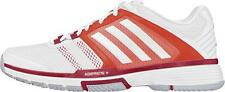 Adidas Womens Barricade Team 4 Tennis Trainers Shoes White NEW B23120