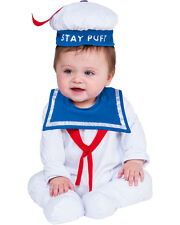 Child's Ghostbusters Stay Puft Marshmallow Man One-Piece Bodysuit Costume