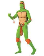 Mens Teenage Mutant Ninja Turtles Michaelangelo 2nd Skin Jumpsuit Costume