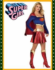 Adult's 'Sexy Supergirl Women's Super Girl Costumes