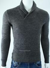 Armani Exchange A|X Mens Shawl Collar Merino Wool Pullover Sweater NWT