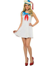 Adult's Womens Ghostbusters Stay Puft Marshmallow Costume Flair Dress