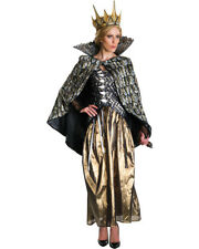 Adult's Womens Deluxe The Hunstman Winters War Queen Ravenna Dress Costume