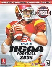 NCAA Football 2004 : Prima's Official Strategy Guide by Prima Temp Authors Staf…