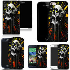 art case cover for various Mobile phones -  apex skull silicone