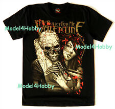 BULLET FOR MY VALENTINE T-Shirt Black S M L XL HM SKULL REAPER SEXY GIRL BLOOD