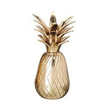 CANDLE HOLDERS - BRASS PINEAPPLE CANDLE HOLDER - YOUR CHOICE OF THREE SIZES