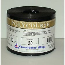 Consolidated Alloys ALUMINIUM FOIL FLASHING POLYCOURSE 230mmx20m or 350mmx20m