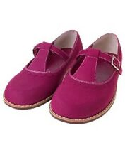 NEW GYMBOREE TODDLER GIRL PINK SUEDE LEATHER MARY JANE SHOES SNEAKERS 9 10