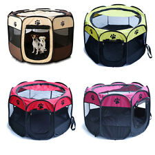 Pet Tent Portable Playpen Dog Folding Crate Puppy Pen Soft Kennel New Cat Cage