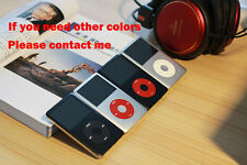 Custom 160GB iPod Classic 7th Generation Black Silver Red (160GB) (Latest Model)