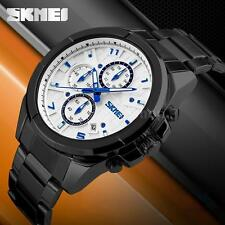 New Mens SKMEI 3ATM Analog Sport Watch Date Quartz Military Army Wristwatch U2W8