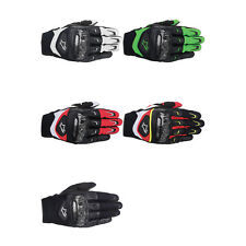 Alpinestars SMX-2 Air Carbon Leather Motorcycle Gloves - Choose Size & Color