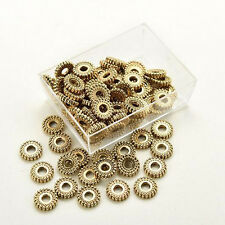 Jewelry Making Findings Loose Spacer Beads Silver Tibet DIY Beads