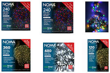 Noma Multi Effect LED Lights Outdoor/Indoor Christmas Wedding Party Many Colours
