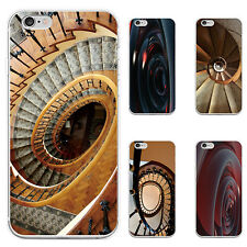 3D SPIRAL PRINT PHONE CASE COVER FOR IPHONE 6S 7 PLUS SAMSUNG GALAXY S6 NICE