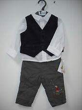 BNWT Humphrey's Corner Trouser, Shirt and Waistcoat Boys Outfit Age 3-36 months