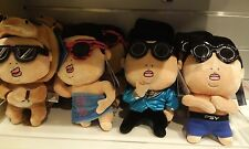 PSY singing doll psy plush toy press the belly then it sings Gangnam style YG