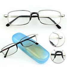 Full-frame Reading Glasses +1.0 To +4.0 Eyeglasses New Metal Hot Coating