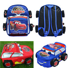 Disney Pixar 95 Cars McQueen Kids Backpack School Bag for Child Boys Girls