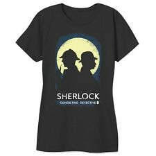 BBC SHERLOCK CONSULTING DETECTIVE Comic-Con Exclusive Ladies T-Shirt Licensed