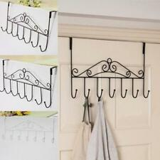 Over Door Hanger Hat Clothes Coat Towel Bag Hanging Rack Tidy Hook Holder 3Color