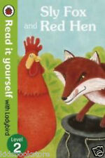 EARLY READER - Read it Yourself Ladybird - Level 2 - SLY FOX AND RED HEN - NEW