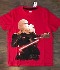 NWT Old Navy Collectabilitees Star Wars Red Tee T-Shirt